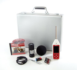 optimus sound level meter full measurement kit