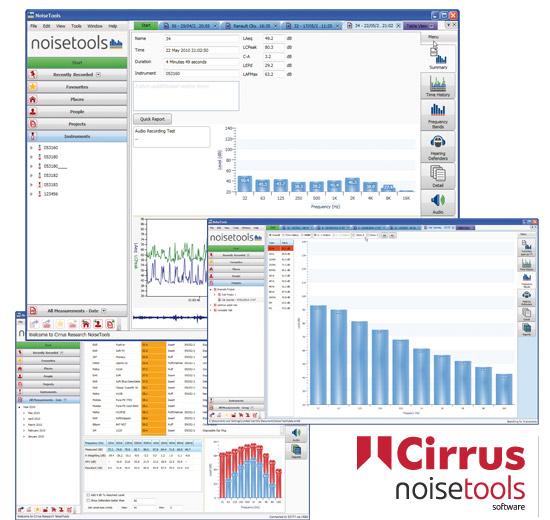 noisetools noise measurement analysis software