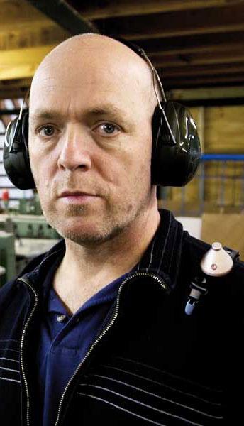 dosebadge noise dosimeter for occupational noise exposure measurement