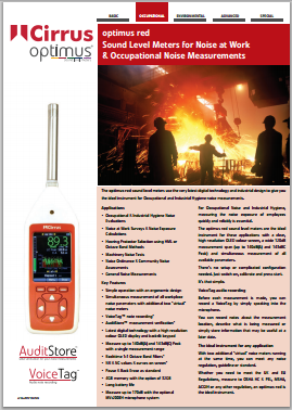 Click here to view the Optimus red technical information datasheet