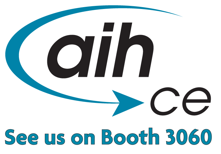 Visit us at AIHce 2014 - Booth 3060